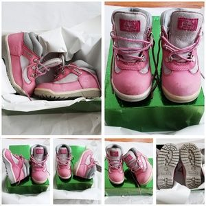 Other - Timberland Pink Toddler Boots